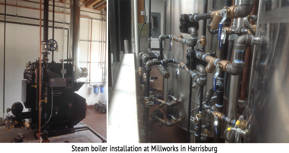 Steam Installations in Harrisburg, PA