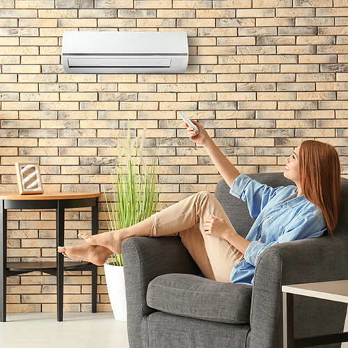 Ductless A/C